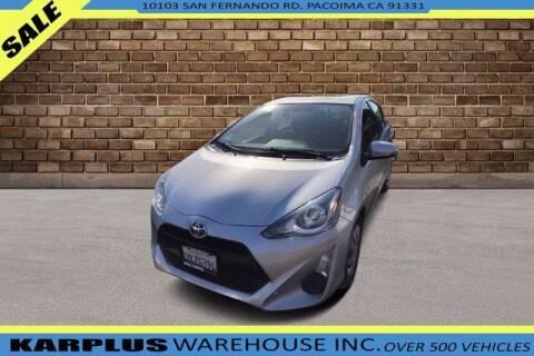 2015 Toyota Prius c for sale at Karplus Warehouse in Pacoima CA