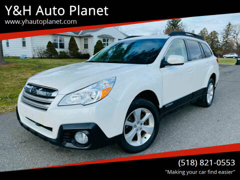 2013 Subaru Outback for sale at Y&H Auto Planet in West Sand Lake NY