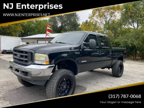 2004 Ford F-250 Super Duty for sale at NJ Enterprises in Indianapolis IN