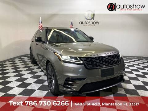 2019 Land Rover Range Rover Velar for sale at AUTOSHOW SALES & SERVICE in Plantation FL