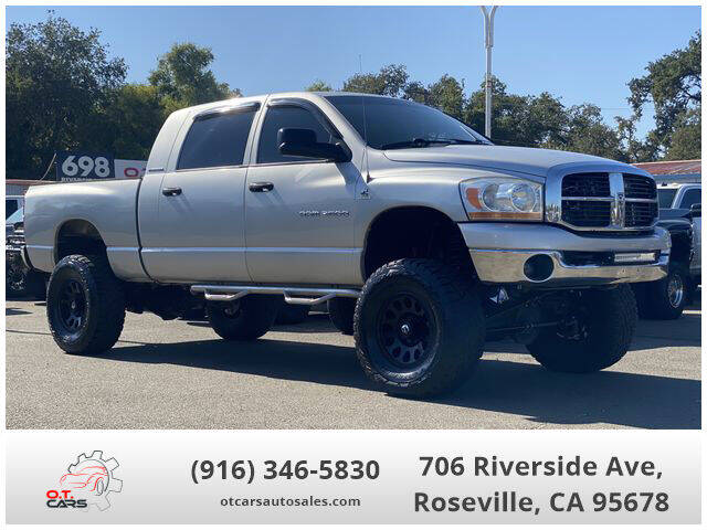 2006 Dodge Ram Pickup 2500 for sale at OT CARS AUTO SALES in Roseville CA