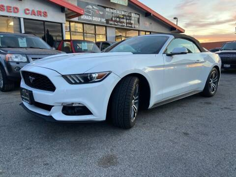 2016 Ford Mustang for sale at Donada  Group Inc in Arleta CA