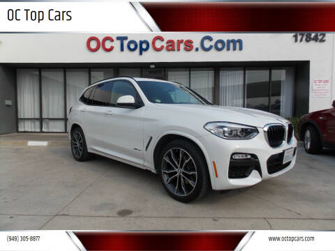 2018 BMW X3 for sale at OC Top Cars in Irvine CA