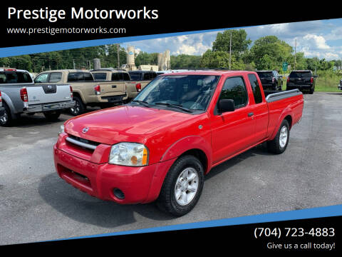 2003 Nissan Frontier for sale at Prestige Motorworks in Concord NC