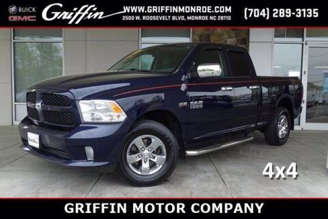 2017 RAM Ram Pickup 1500 for sale at Griffin Buick GMC in Monroe NC