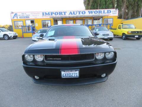 2013 Dodge Challenger for sale at Import Auto World in Hayward CA