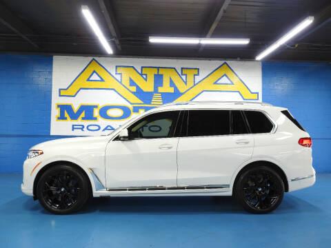 2020 BMW X7 for sale at ANNA MOTORS, INC. in Detroit MI