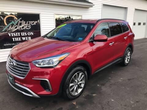 2017 Hyundai Santa Fe for sale at HILLTOP MOTORS INC in Caribou ME