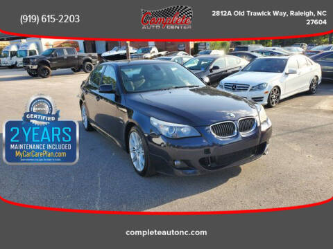 2010 BMW 5 Series for sale at Complete Auto Center , Inc in Raleigh NC
