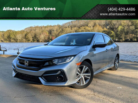 2020 Honda Civic for sale at Atlanta Auto Ventures in Roswell GA