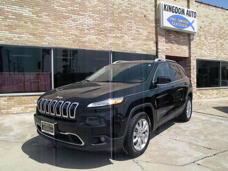 2014 Jeep Cherokee for sale at Kingdom Auto Centers in Litchfield IL