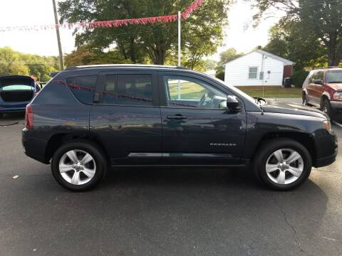 2014 Jeep Compass for sale at Kenny's Auto Sales Inc. in Lowell NC