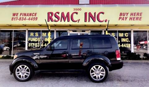 2011 Dodge Nitro for sale at Ron Self Motor Company in Fort Worth TX