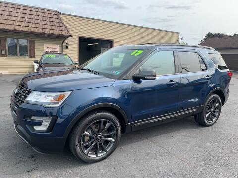 2017 Ford Explorer for sale at MAGNUM MOTORS in Reedsville PA