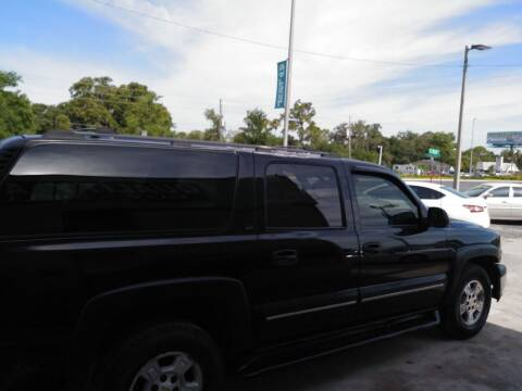 2001 Chevrolet Suburban for sale at QUALITY AUTO SALES OF FLORIDA in New Port Richey FL