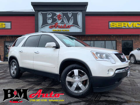 2012 GMC Acadia for sale at B & M Auto Sales Inc. in Oak Forest IL