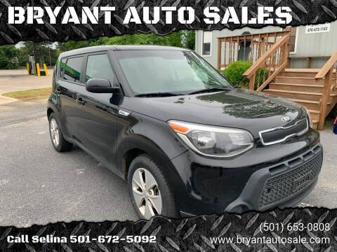 2015 Kia Soul for sale at BRYANT AUTO SALES in Bryant AR