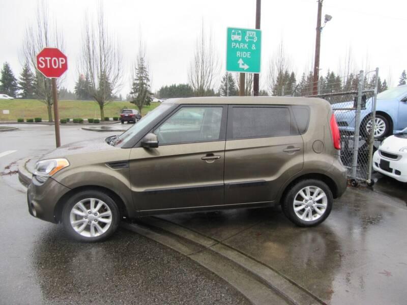 2012 Kia Soul for sale at Car Link Auto Sales LLC in Marysville WA