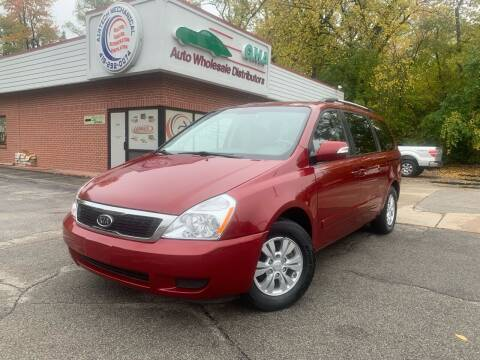 2012 Kia Sedona for sale at GMA Automotive Wholesale in Toledo OH