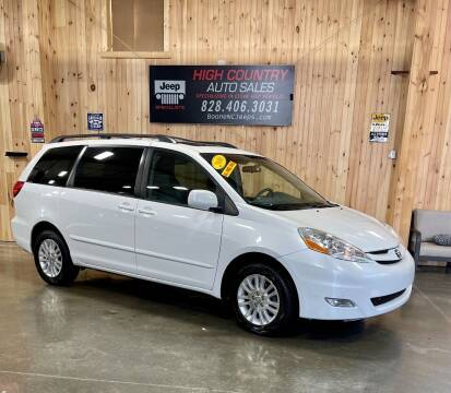 2010 Toyota Sienna for sale at Boone NC Jeeps-High Country Auto Sales in Boone NC