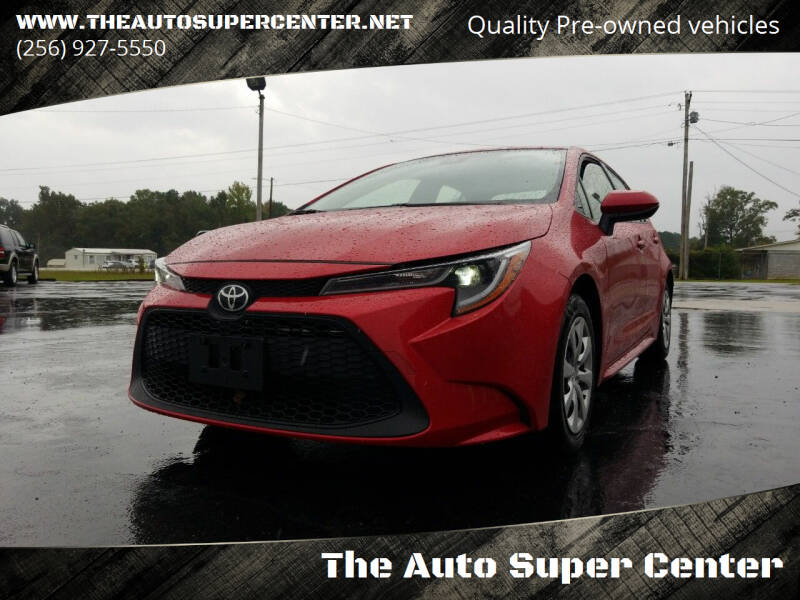 2020 Toyota Corolla for sale at The Auto Super Center in Centre AL
