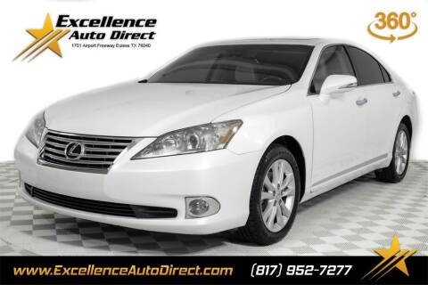 2012 Lexus ES 350 for sale at Excellence Auto Direct in Euless TX