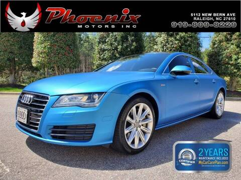 2013 Audi A7 for sale at Phoenix Motors Inc in Raleigh NC