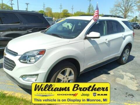 2016 Chevrolet Equinox for sale at Williams Brothers - Pre-Owned Monroe in Monroe MI