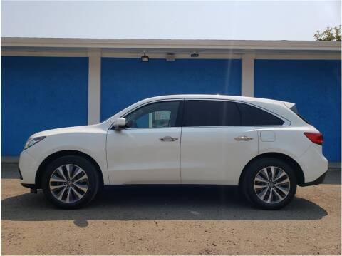 2016 Acura MDX for sale at Khodas Cars in Gilroy CA