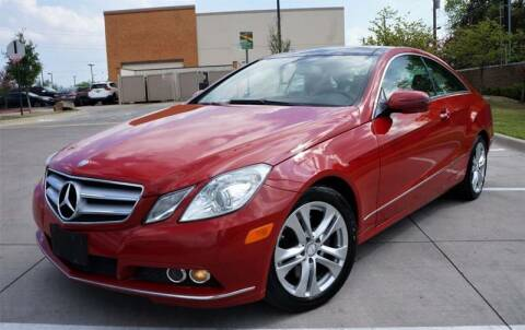2010 Mercedes-Benz E-Class for sale at International Auto Sales in Garland TX