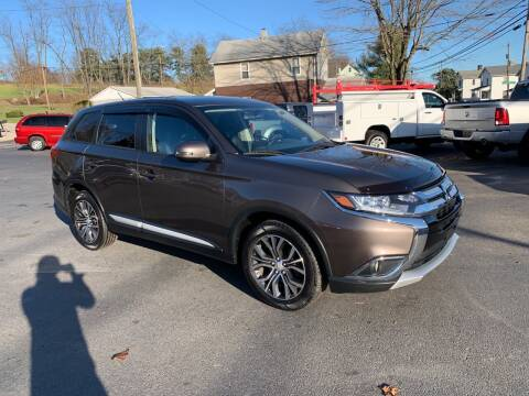 2016 Mitsubishi Outlander for sale at Twin Rocks Auto Sales LLC in Uniontown PA
