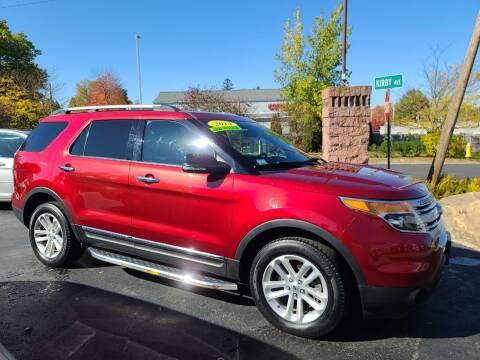 2014 Ford Explorer for sale at R C Motors in Lunenburg MA