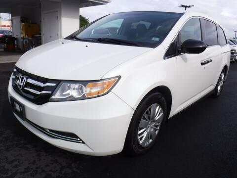 2015 Honda Odyssey for sale at PONO'S USED CARS in Hilo HI