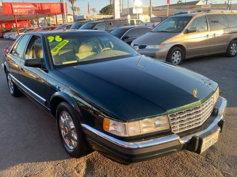 1996 Cadillac Seville for sale at North County Auto in Oceanside CA