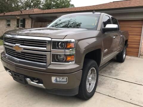 2014 Chevrolet Silverado 1500 for sale at Texas Luxury Auto in Houston TX