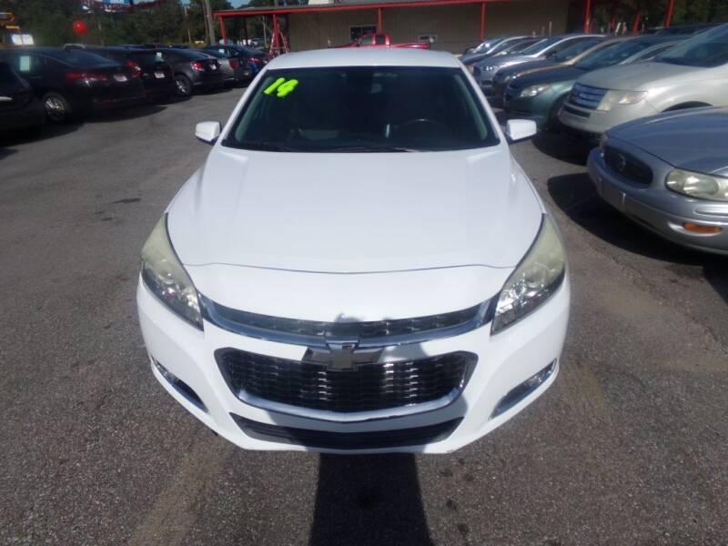 2014 Chevrolet Malibu for sale at Alabama Auto Sales in Semmes AL