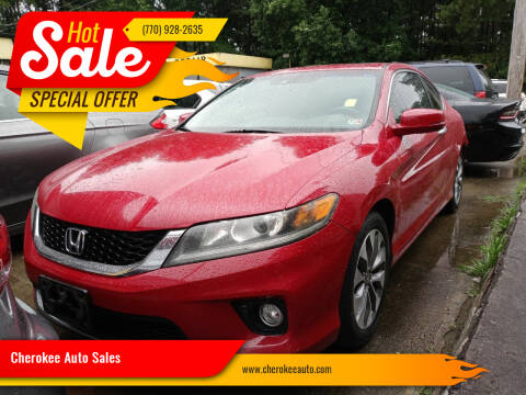 2013 Honda Accord for sale at Cherokee Auto Sales in Acworth GA