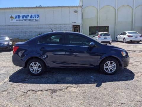 2014 Chevrolet Sonic for sale at Nu-Way Auto Ocean Springs in Ocean Springs MS
