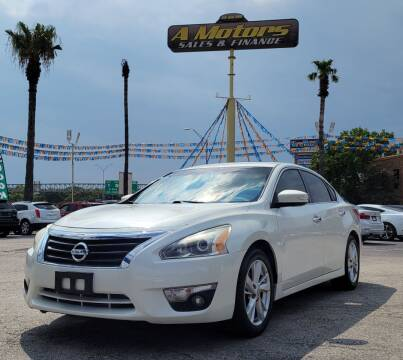 2013 Nissan Altima for sale at A MOTORS SALES AND FINANCE in San Antonio TX