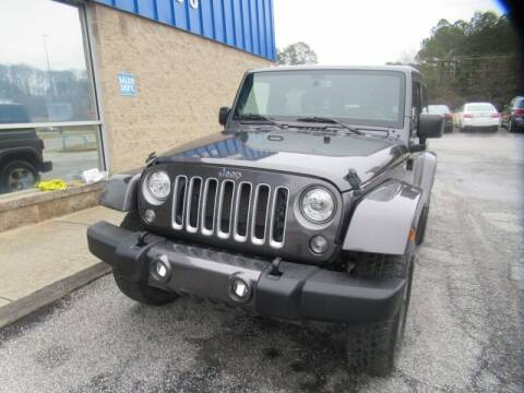 2018 Jeep Wrangler JK for sale at Southern Auto Solutions - Georgia Car Finder - Southern Auto Solutions - 1st Choice Autos in Marietta GA