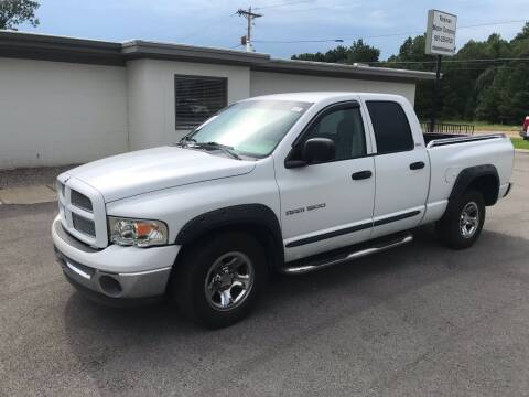 2002 Dodge Ram Pickup 1500 for sale at Rickman Motor Company in Somerville TN
