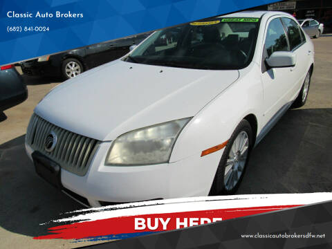 2007 Mercury Milan for sale at Classic Auto Brokers in Haltom City TX