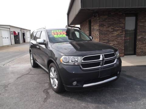 2011 Dodge Durango for sale at Dietsch Sales & Svc Inc in Edgerton OH