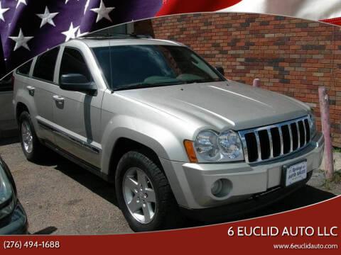 2008 Jeep Grand Cherokee for sale at 6 Euclid Auto LLC in Bristol VA