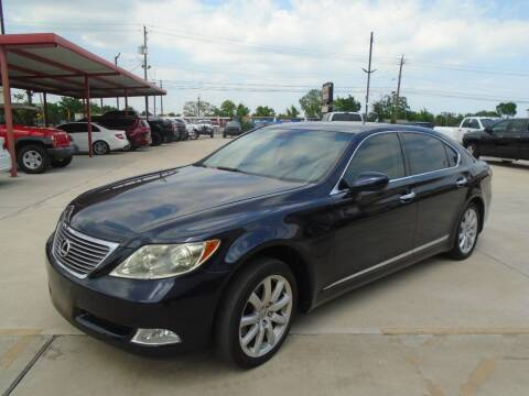 2007 Lexus LS 460 for sale at Premier Foreign Domestic Cars in Houston TX
