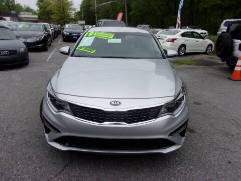 2019 Kia Optima for sale at Balic Autos Inc in Lanham MD