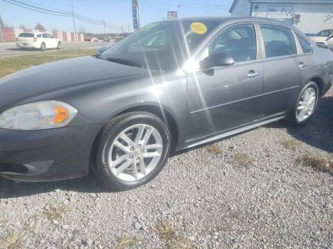 2010 Chevrolet Impala for sale at Mr E's Auto Sales in Lima OH