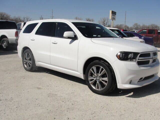 2013 Dodge Durango for sale at Frieling Auto Sales in Manhattan KS