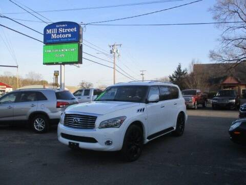2014 Infiniti QX80 for sale at Mill Street Motors in Worcester MA