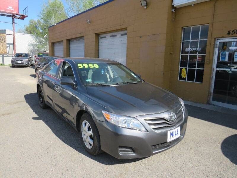 2010 Toyota Camry for sale at Nile Auto Sales in Denver CO